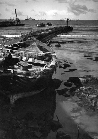 תל אביב 1937 המזח בבניה