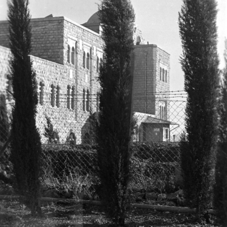 ירושלים 1938 הר הצופים