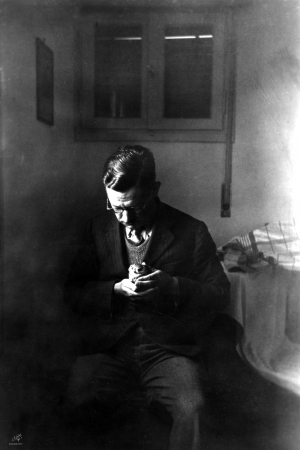 דוד סקלי 1940 עם גוזל