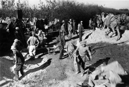 נבי רובין 1940 עבודת בניה