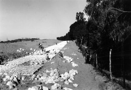 נבי רובין 1940 בונים כביש