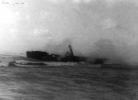 תל אביב 1941 ספינה טבועה