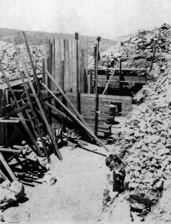 נווה אילן 1948 ביצורים