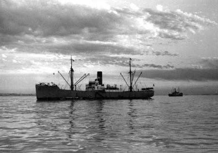 תל אביב 1937 אונית מטען