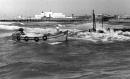 תל אביב 1937 סירה ליד מזח