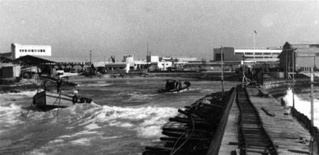 תל אביב 1937 מסילה על מזח