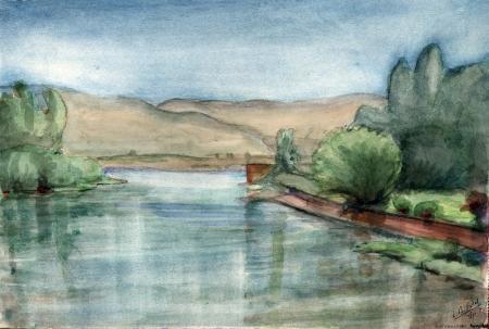 נהר הירדן - 1944