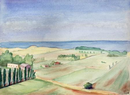 הרצליה לפני הפיתוח - 1942