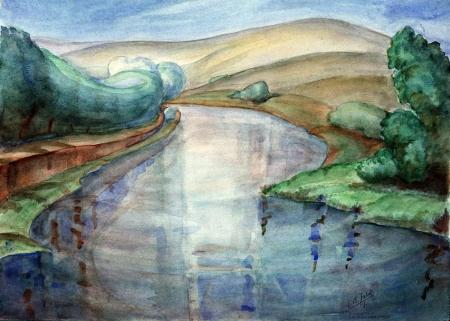 נהר הירדן - 1936