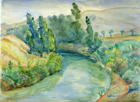 נהר הירדן - 1946