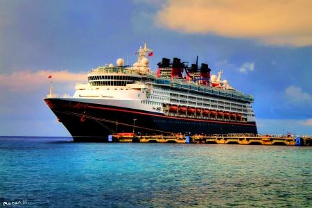 ספינה בקריביים