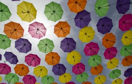 מטריות בשמים