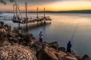 דייג בכנרת