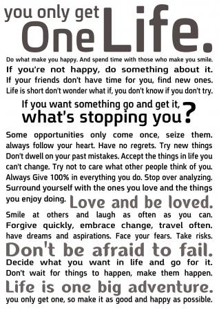 One life 2