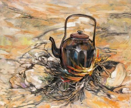קפה במדבר