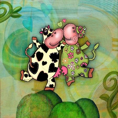 פרות מרקדות