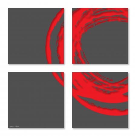 עיגול אדום