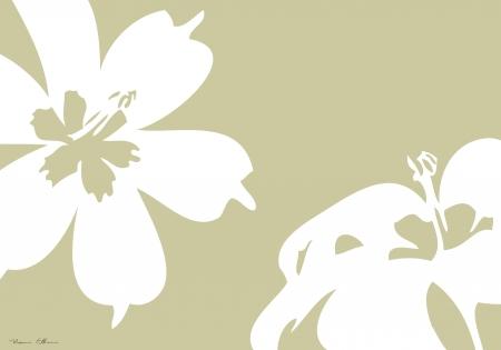 פרחים אבסטרקט