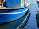 סירה כחולה