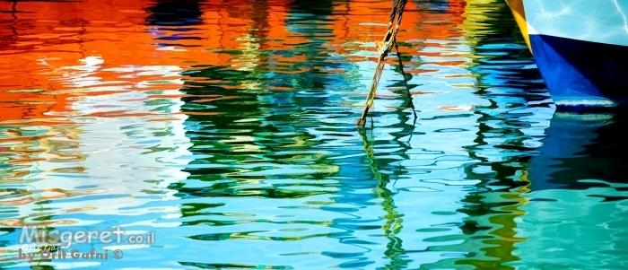 צבעים בנמל | אורית גפני | מק''ט 312882