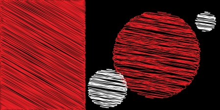 שחור אדום