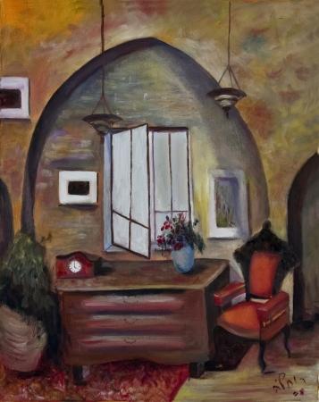 הכורסא בסלון העתיק