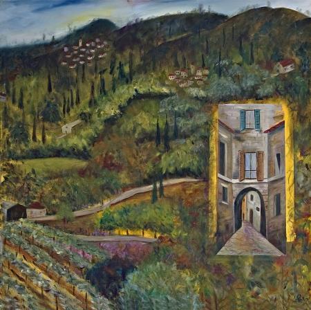 סימטה בטוסקנה - Tuscany