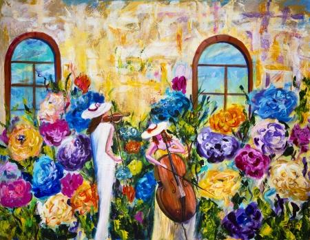 בכינור ובצלו