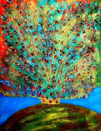תוצאת תמונה עבור ציור של רפאלה הטווס