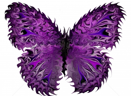 wings in purle