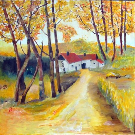 בית אכרים בכפר