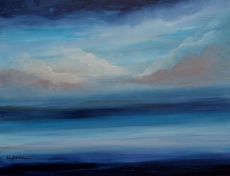 עננים על הים