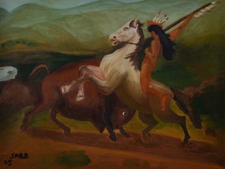 אינדיאני על סוס