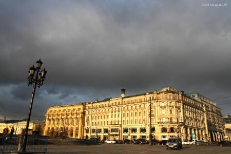 חורף במוסקבה