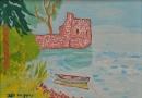 אגם הכנרת והחומה