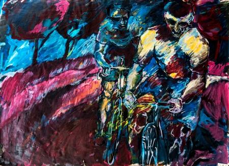 רוכבים בצבע