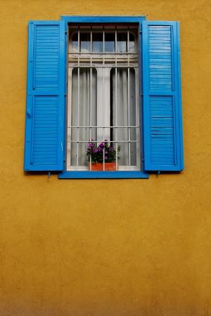 כחול וצהוב