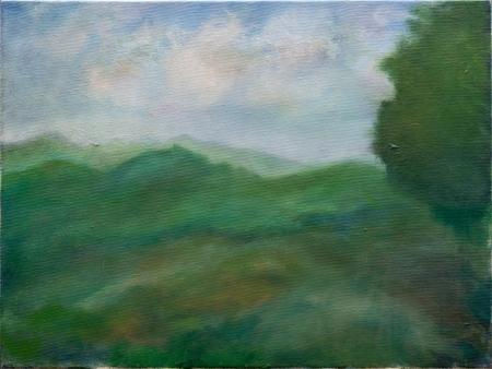 נוף ירוק