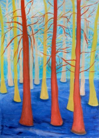 יער דמיוני כחול