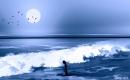 שחייה לילית