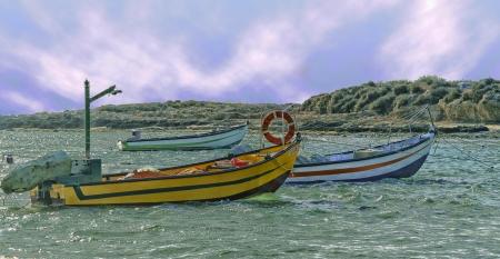 מעגן דייגים בחוף דור