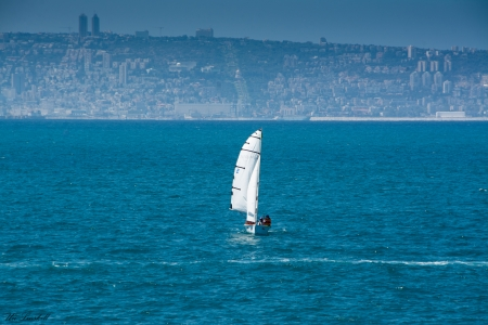 חיפה- מבט מהים