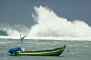 סירה במפרץ
