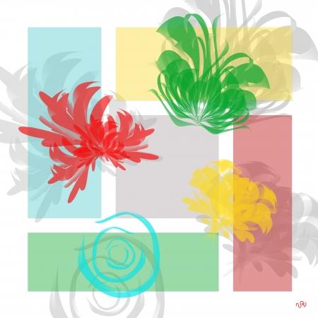 פרחים עדינים