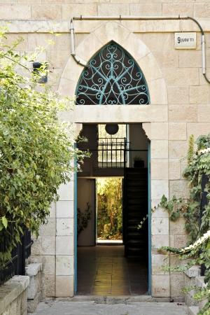 דלת ערבית פתוחה
