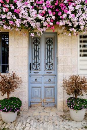 דלת תכלת בימין משה