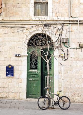 שער עם אופניים