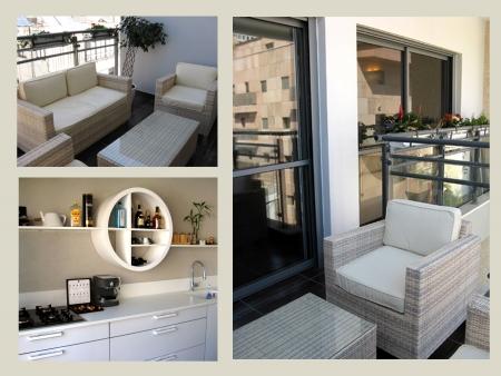 עיצוב של דירה ברחוב גאולה, ת«א | עיצוב פנים