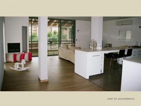 עיצוב של דירה בהוד השרון | עיצוב פנים