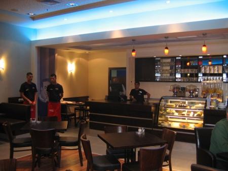 עיצוב של בית קפה, מיסעדה | עיצוב פנים